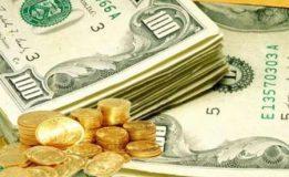 رشد نرخ سکه تمام و افت قیمت دلار و یورو در بازار آزاد