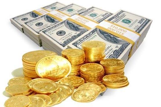 افت قیمت سکه و دلار آمریکا در بازار آزاد